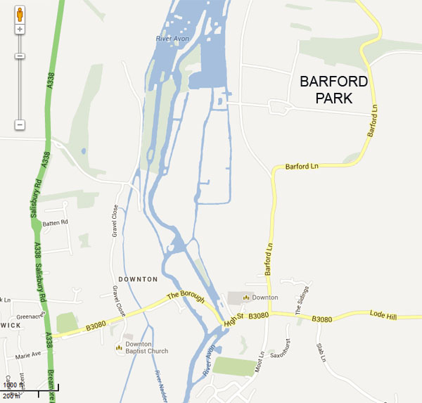 map of barford park